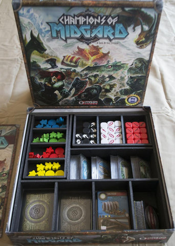 Champions of Midgard Foamcore Insert (pre-assembled)