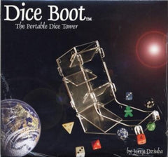 Dice Boot - The Portable Dice Tower - Top Shelf Gamer