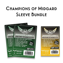 Card Sleeve Bundle: Champions of Midgard - Top Shelf Gamer