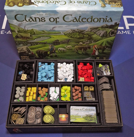 Clans of Caledonia™ Foamcore Insert (pre-assembled)