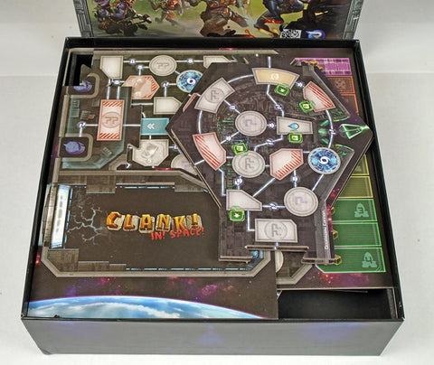Clank! In Space™ Foamcore Insert (pre-assembled)