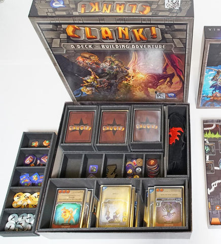 Clank!™ Version 2 Foamcore Insert (pre-assembled)