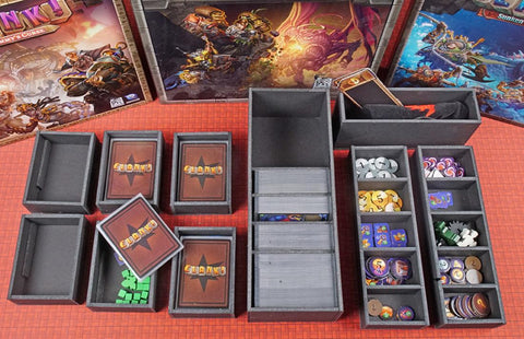 Clank! Version 3 Foamcore Insert (pre-assembled)