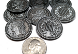 Colonial Silver Coins (set of 10)