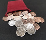 Coin Bundle Compatible with Coup™ (set of 30)