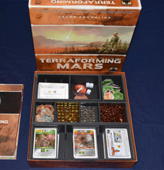 Terraforming Mars Foamcore Insert (pre-assembled) - Top Shelf Gamer - 1