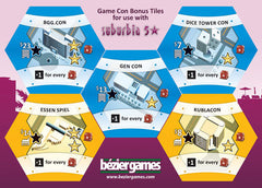 Game Con Bonus Tiles - Top Shelf Gamer