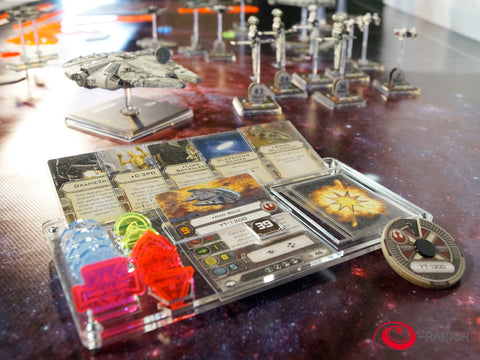 Organizer compatible with Star Wars X-Wing