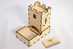 Mini Dice Tower - Top Shelf Gamer - 1