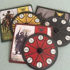 Scythe Kickstarter Promo #5 - Promo Power Dials (set of 3)