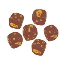 Zombicde: Brown Dice - Top Shelf Gamer