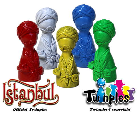 Twinples for Istanbul™ (set of 5)