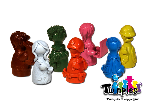 Twinples compatible with Pandemic (set of 7)