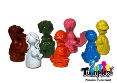 Twinples compatible with Pandemic™ (set of 7)