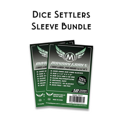 Card Sleeve Bundle: Dice Settlers™