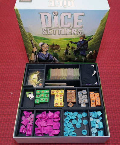 Dice Settlers™  Foamcore Insert (pre-assembled)
