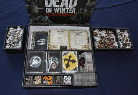 Dead of Winter™: The Long Night Foamcore Insert (pre-assembled)