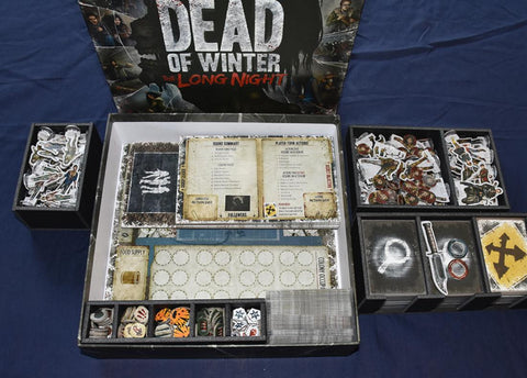 Dead of Winter: The Long Night Foamcore Insert (pre-assembled)