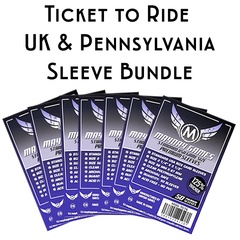 Card Sleeve Bundle: Ticket to Ride™, United Kingdom and Pennsylvania