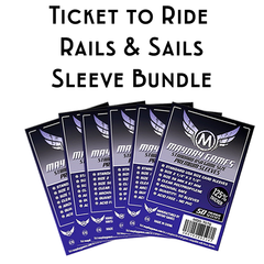 Card Sleeve Bundle: Ticket to Ride™, Rails & Sails