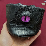 Standing Dragon Eye (Purple) Drawstring Bag
