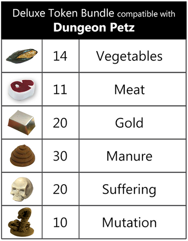 Deluxe Token Bundle compatible with Dungeon Petz™