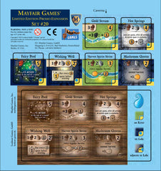 Mayfair Ltd. Promo Expansion #20 - Caverna - water tile - Top Shelf Gamer