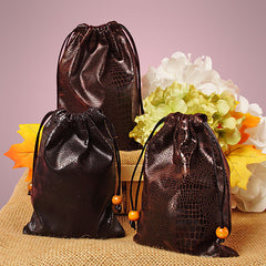 "Faux Leather Bags 6x9"" -Compatible with Great Western Trail"