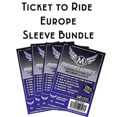 Card Sleeve Bundle: Ticket to Ride™, Europe