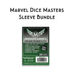 Card Sleeve Bundle: Marvel Dice Masters Base