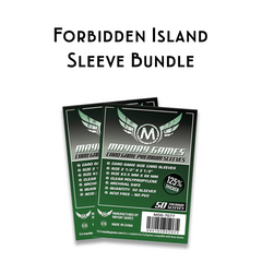 Card Sleeve Bundle: Forbidden Island - Top Shelf Gamer