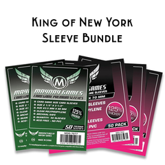 Card Sleeve Bundle: King of New York
