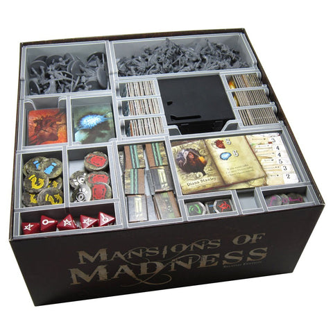 Evacore Insert compatible with Mansions of Madness 2nd Edition™ and Expansions