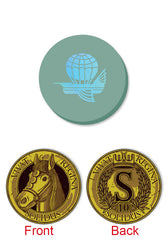 Feudum: Gold Atticus Metal Coin & Flying Epoch Marker