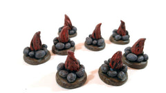 Campfire Tokens (set of 10) - Top Shelf Gamer