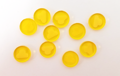 Acrylic Floater Resource Tokens (set of 10)