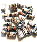 Miniature Food Cans (set of 10)
