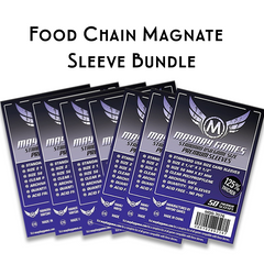 Card Sleeve Bundle: Food Chain Magnate™