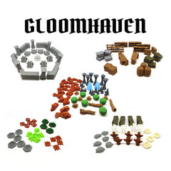 Full Scenery Pack compatible with Gloomhaven™ (set of 139)