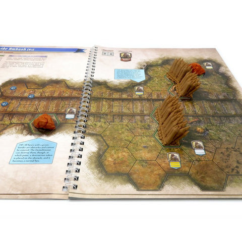 Full scenery upgrade kit compatible with Gloomhaven: Jaws of the Lion™ (set of 114)