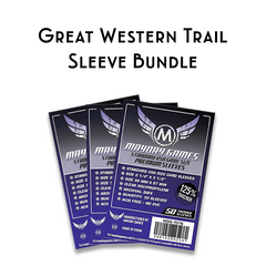Card Sleeve Bundle: Great Western Trail