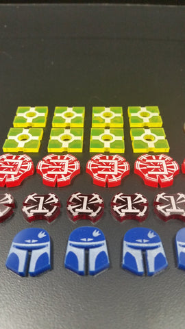 Star Wars Destiny Acrylic Token set