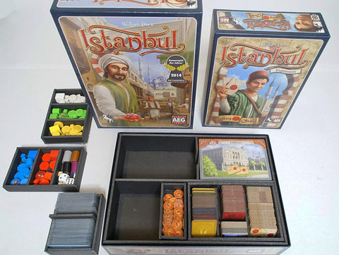 Istanbul Foamcore Insert Version 3 (pre-assembled)