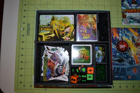 King of Tokyo™ Foamcore Insert (pre-assembled)