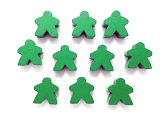 Lignum: Green Bearer Meeples (set of 10)