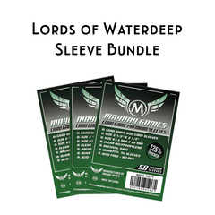 Card Sleeve Bundle: Lords of Waterdeep - Top Shelf Gamer