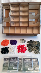 Deluxe Kit 2 for Lords of Waterdeep : Silver Level - Top Shelf Gamer - 1