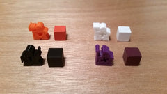 Meeples for Lords of Waterdeep (set of 100) - Top Shelf Gamer - 4