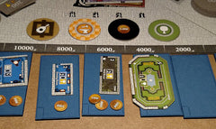 Castles of Mad King Ludwig: Blueprint Room Holders (set of 7) - Top Shelf Gamer
