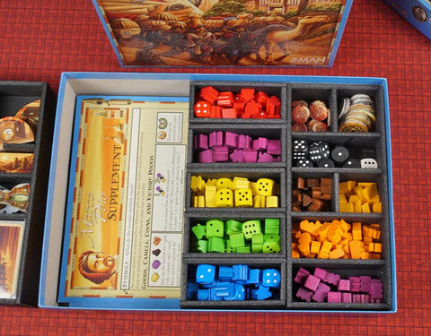 The Voyages of Marco Polo™ Version 2 Foamcore Insert (pre-assembled)